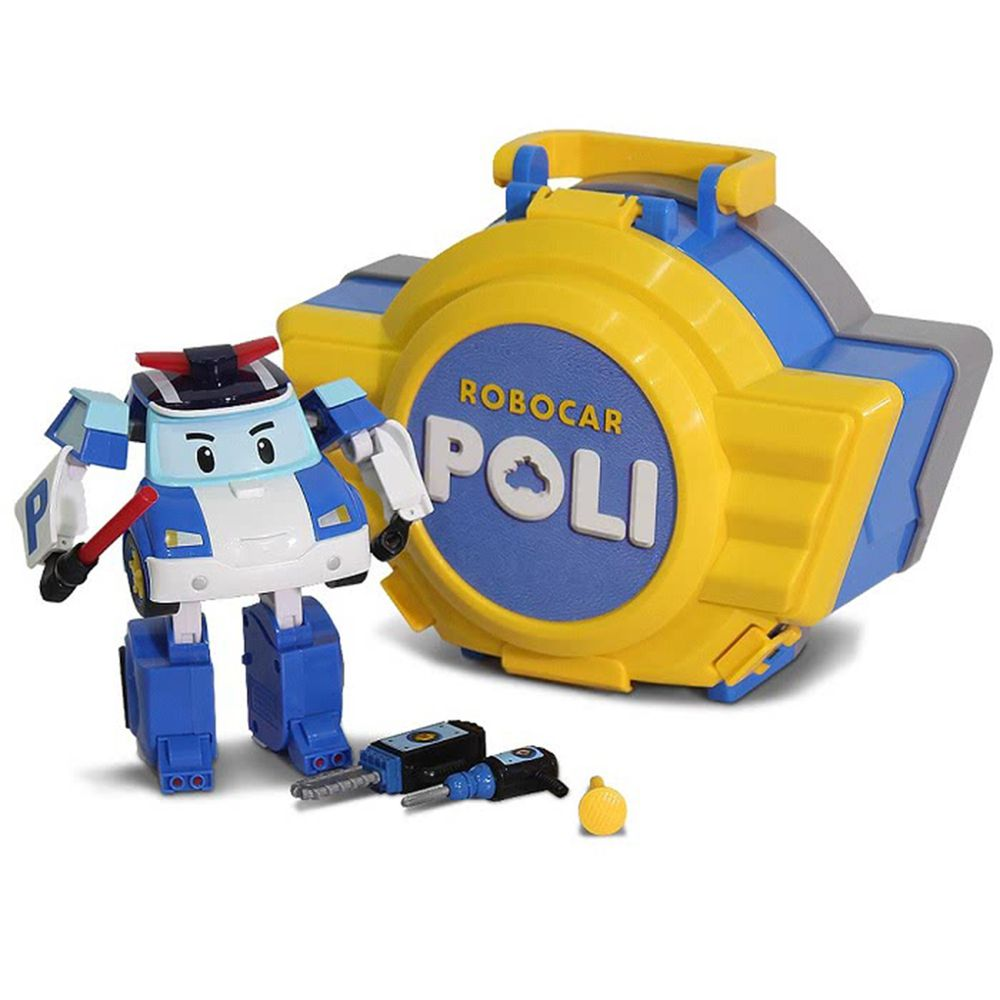 POLI 波力 - LED變形波力手提基地