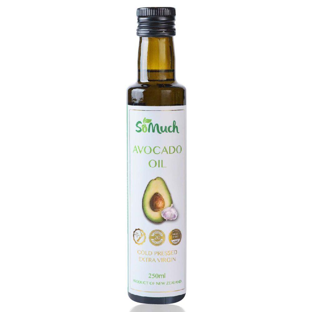 壽滿趣-紐西蘭Somuch - 頂級冷壓初榨蒜香酪梨油-250ml
