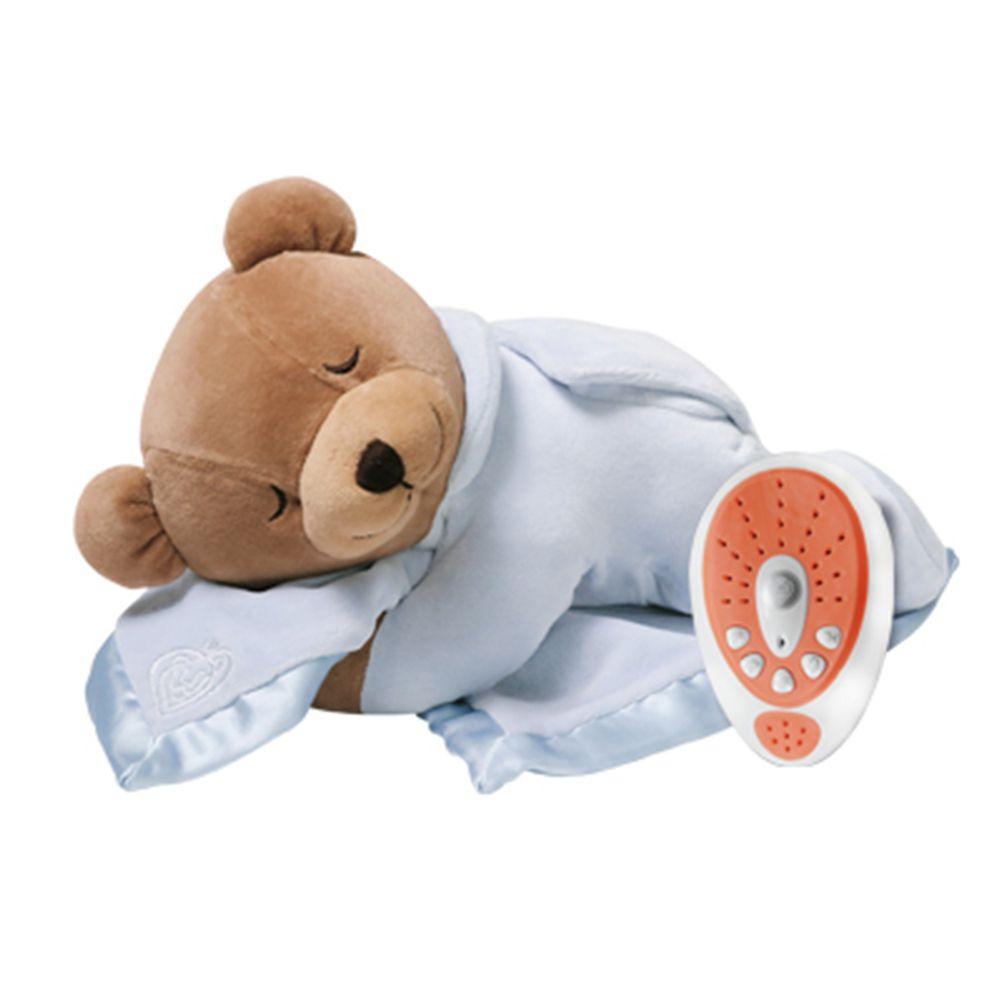美國PRINCE LIONHEART - 睡睡熊助眠玩偶-藍