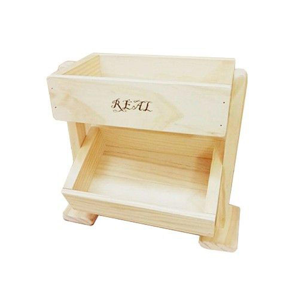 REAL 實木玩家 - 小小雙層架