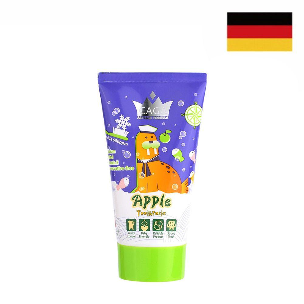 德國 CAGA 牙佳 - 兒童含氟牙膏-蘋果味-紫 (2歲以上)-50ml