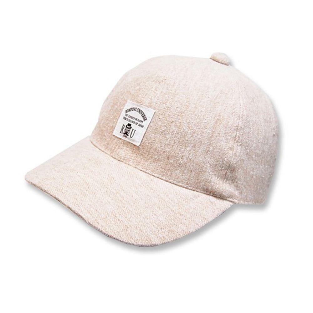 日本 ROMPING UNIVERSE - 棒球帽-小童款-米色-03-2004