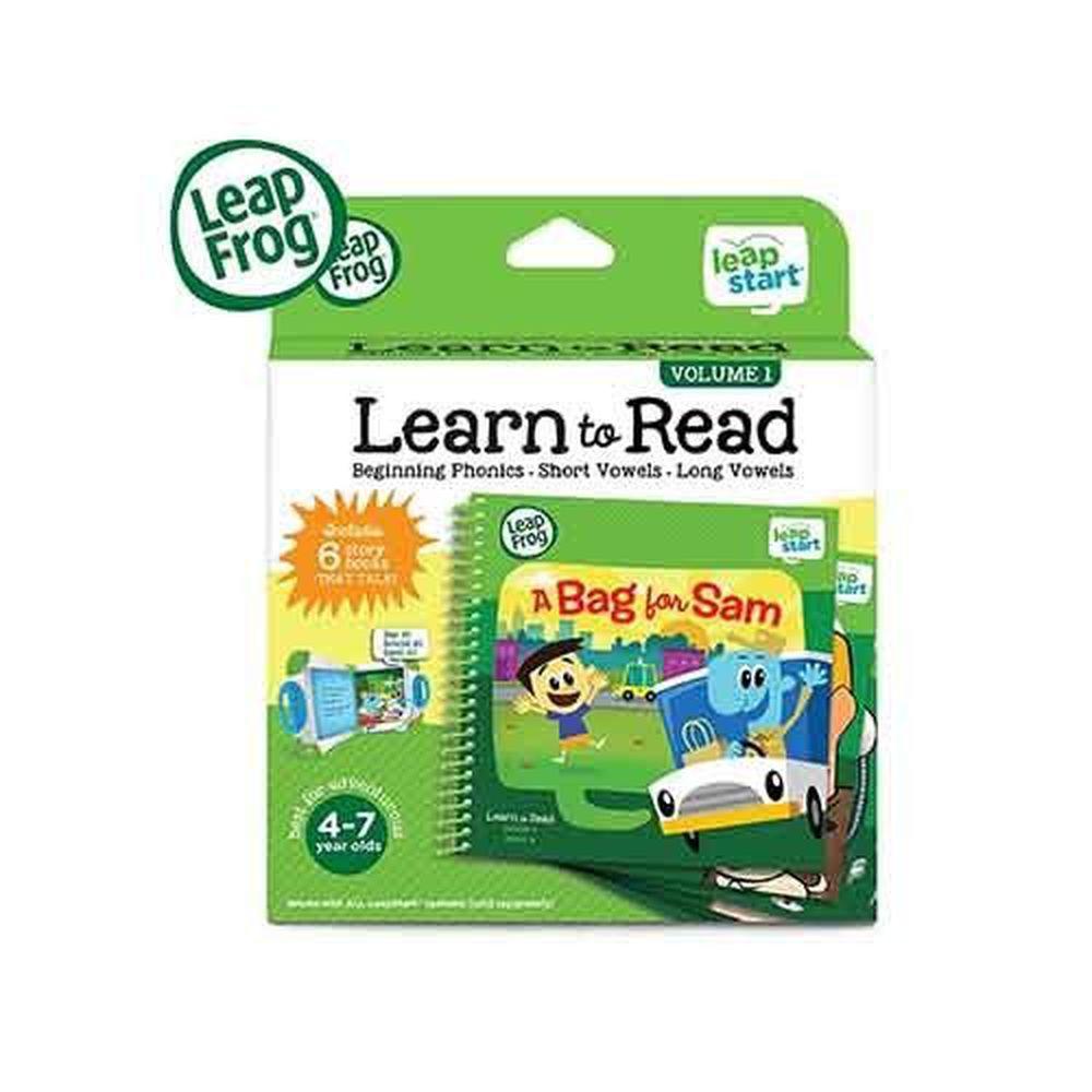 LeapFrog美國跳跳蛙 - LeapStart Books:行動閱讀套組1 (3D) (24*20*6cm)