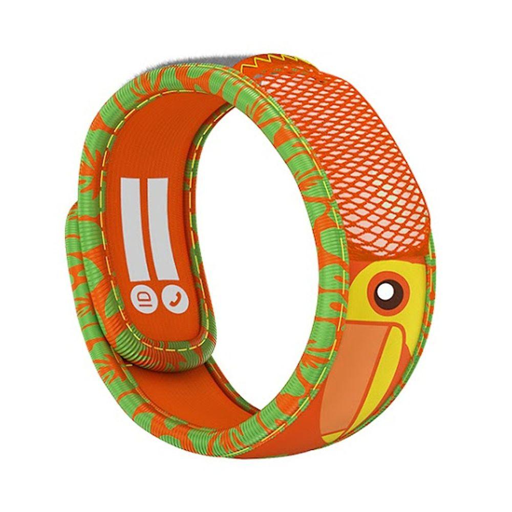 法國 PARA'KITO 帕洛 - 天然精油防蚊兒童手環-大嘴鳥款