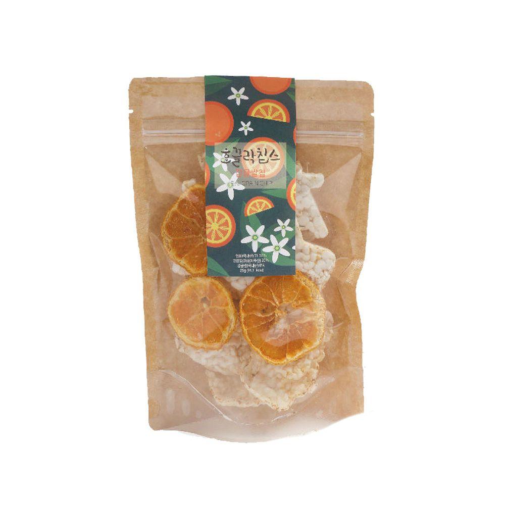 JejuMami 濟州媽咪 - 濟州純淨柑橘米餅脆片單入-(有效期限 05/28/2021) (25g)