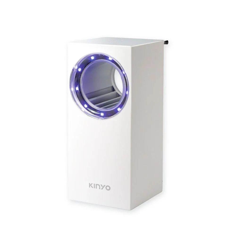 KINYO - 光控吸入捕蚊燈-白色 (W8.8xH20xD8.9cm)
