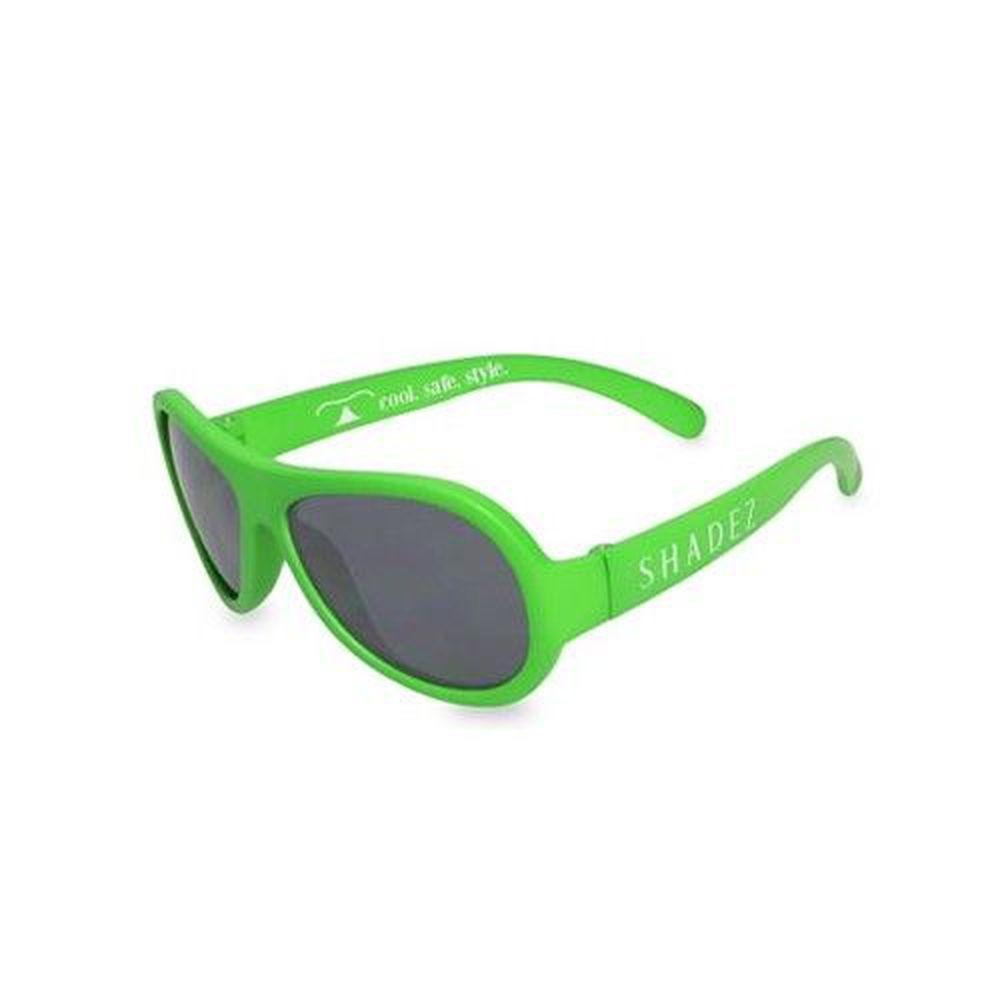 SHADEZ - 可彎折嬰幼兒時尚太陽眼鏡-青草綠