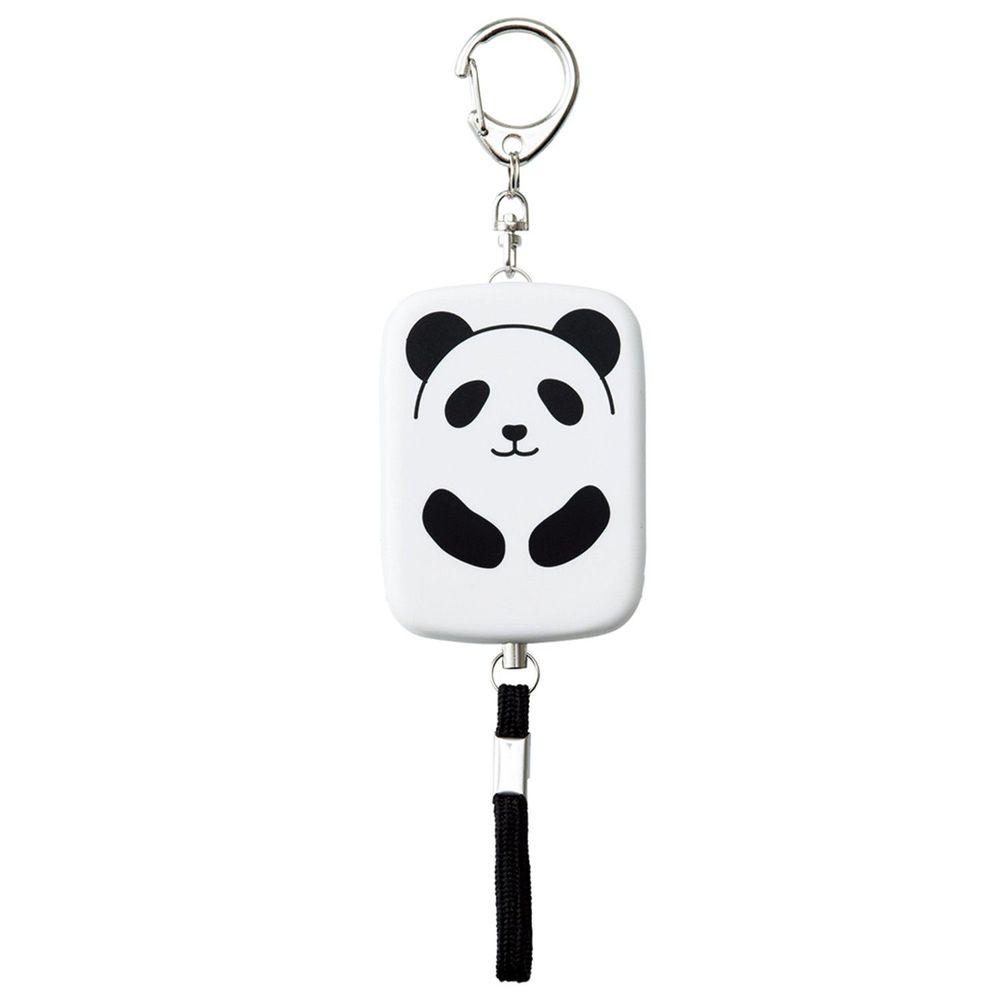 日本 LIHIT LAB - 防身警報器-熊貓 (附測試用電池)