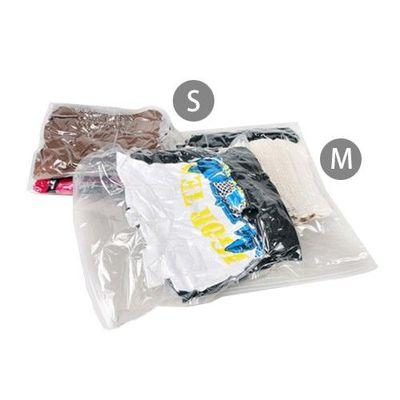 旅行用手捲式真空壓縮收納袋組-Sx3+Mx3