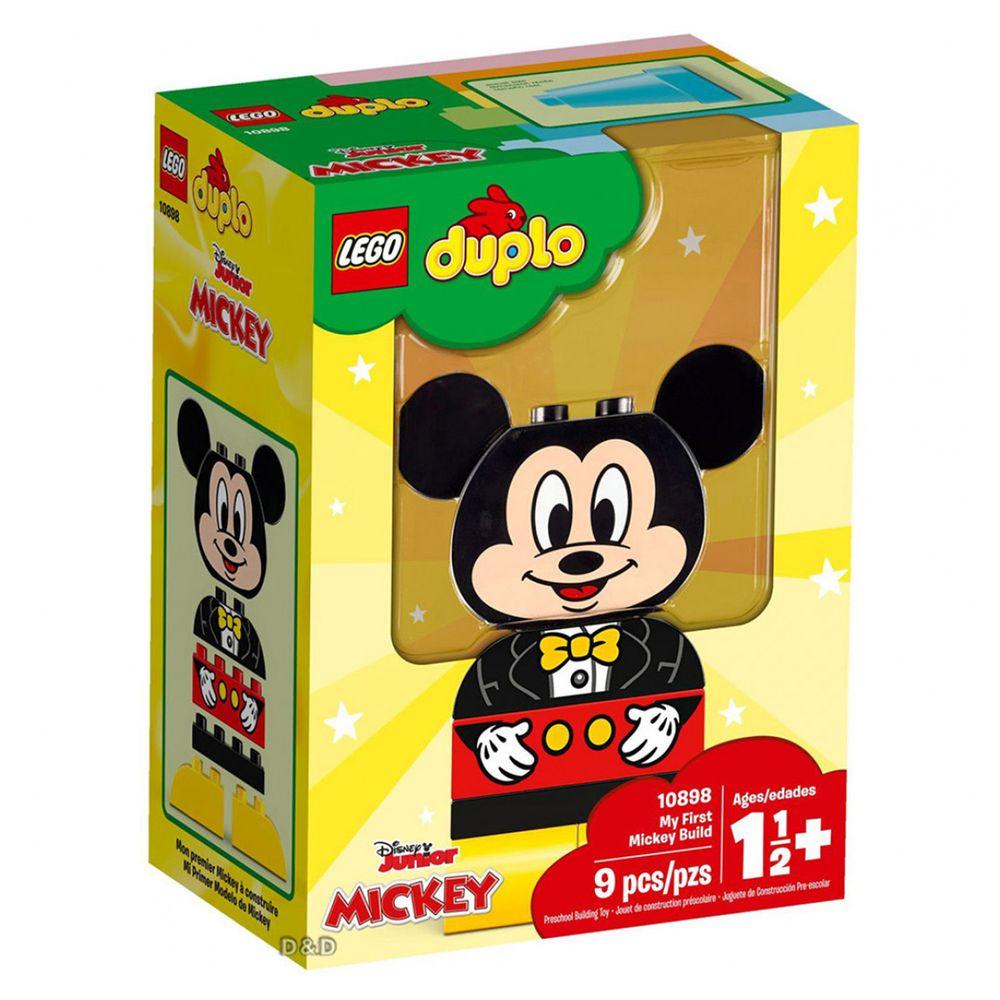 樂高 LEGO - 樂高 Duplo 得寶幼兒系列 - My First Mickey Build 10898-9pcs