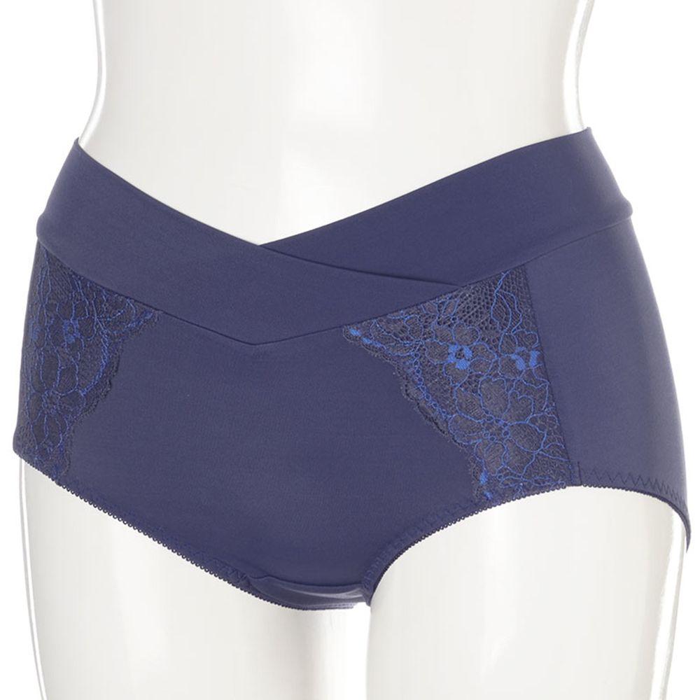 akachan honpo - 孕婦內褲 產後也可穿-深藍色