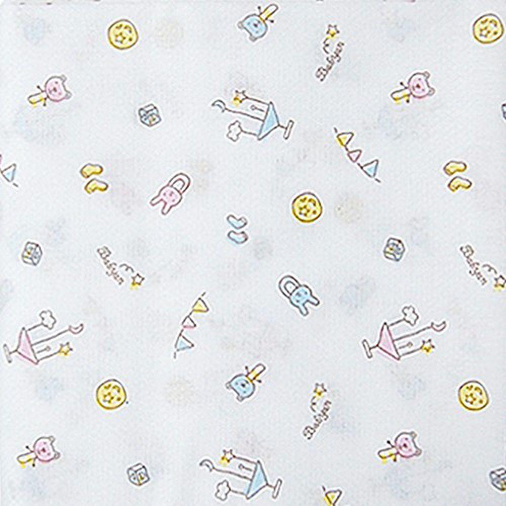 babyan - 100%純棉澡巾(5入)-寶寶異想世界 (90x90cm)