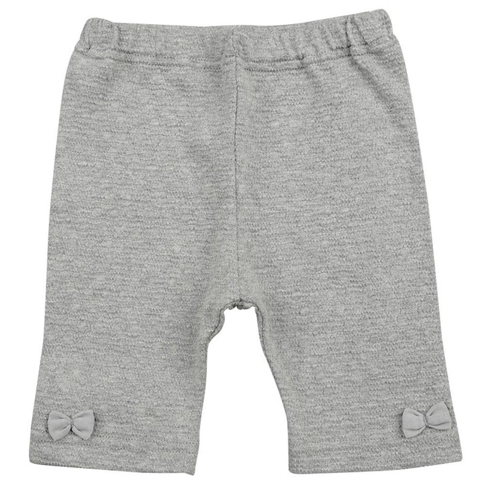 akachan honpo - 5分內搭褲-灰色