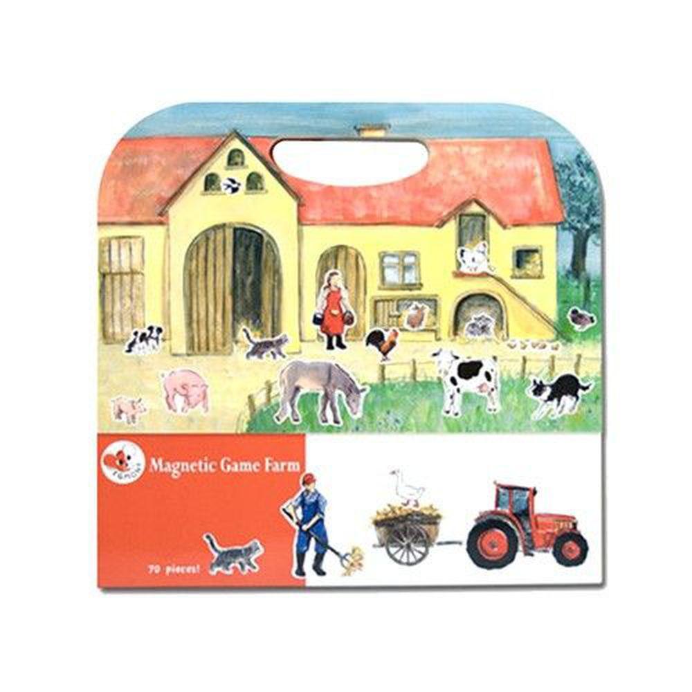 比利時艾格蒙 - 繪本風磁鐵書-開心農場-25x24x1 cm