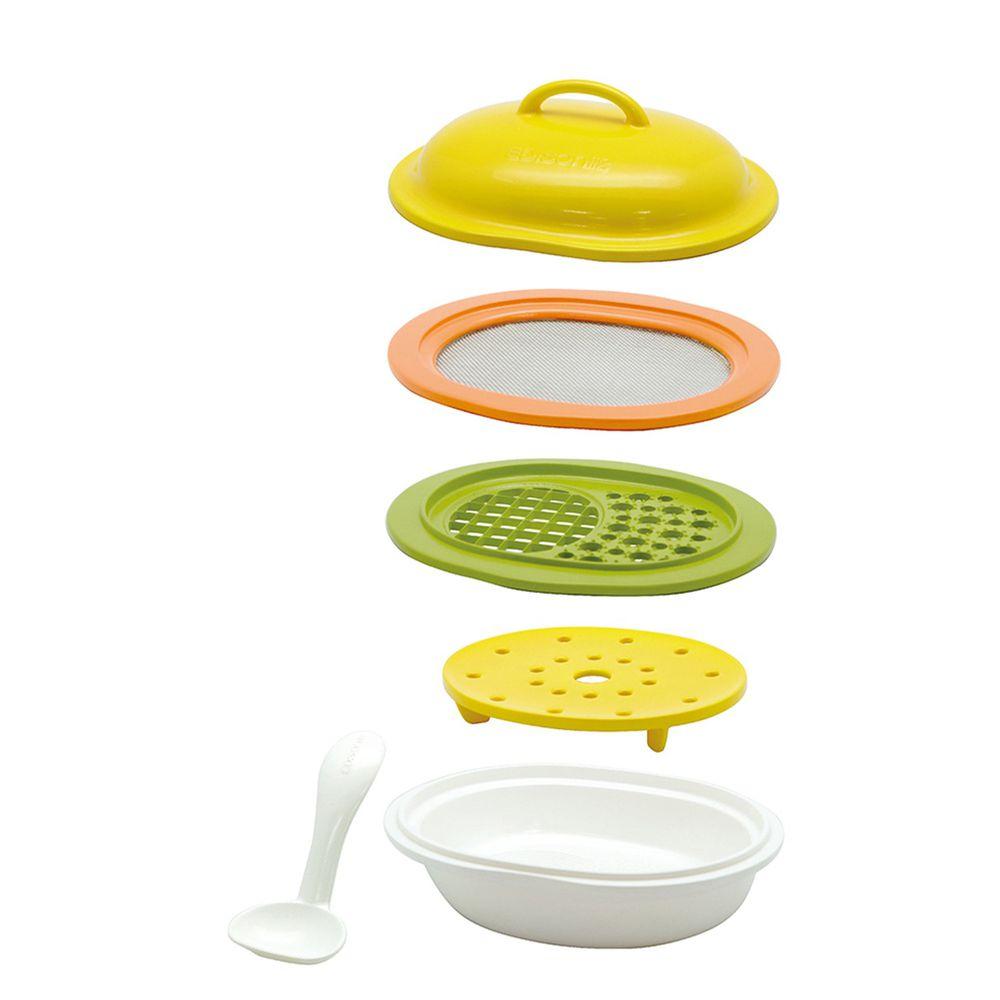 日本 EDISON mama - 副食品調理器組合(6件組)