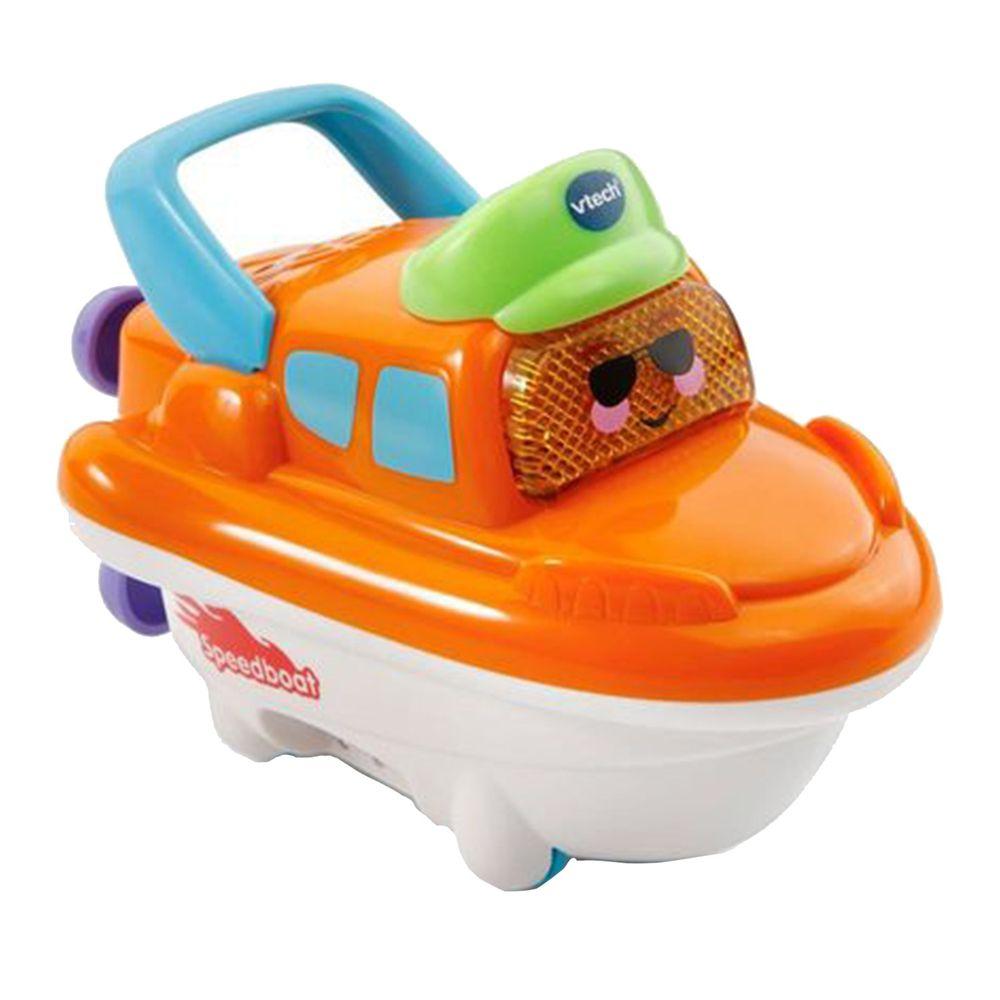Vtech - 2合1嘟嘟戲水洗澡玩具系列-酷炫快艇
