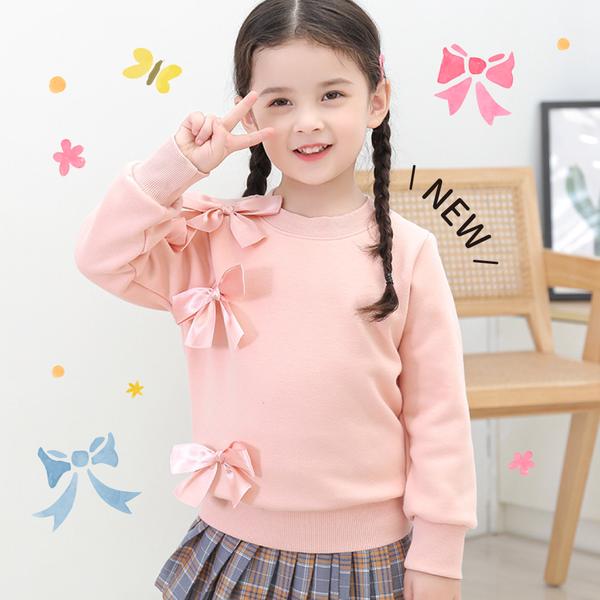 秋意針織女寶童裝、百搭純棉長袖T恤✨ #新品現折$20!