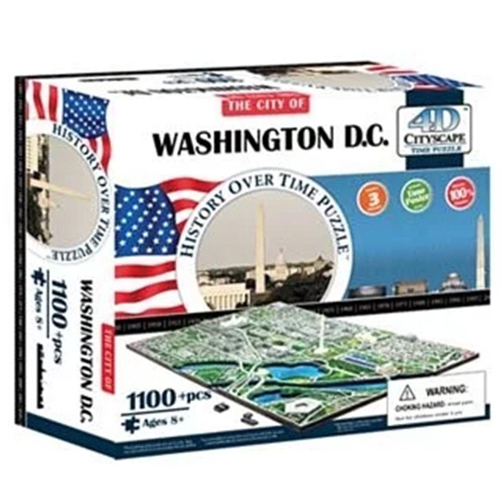 4D Cityscape - 4D-城市拼圖-華盛頓-1100片