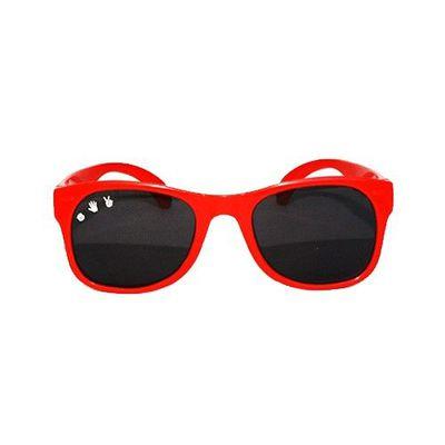 Roshambo繽紛視界 時尚墨鏡-寶寶款-火焰紅 (0-2Y)