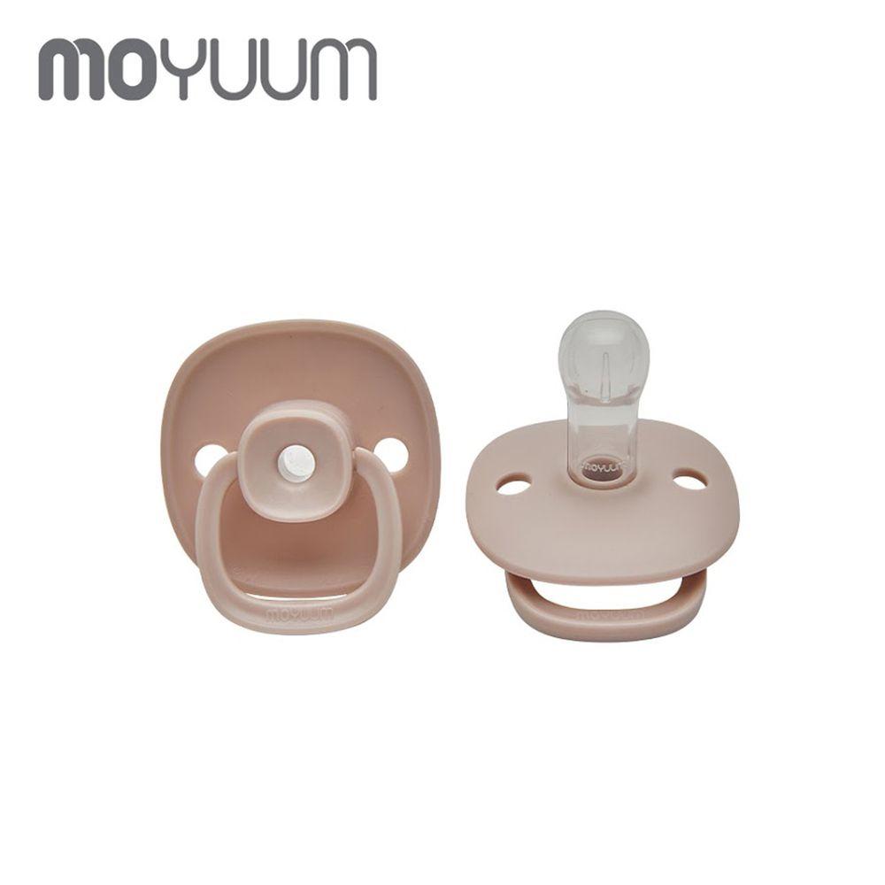 韓國 Moyuum - 母乳實感辛奇奶嘴-6M+-粉色