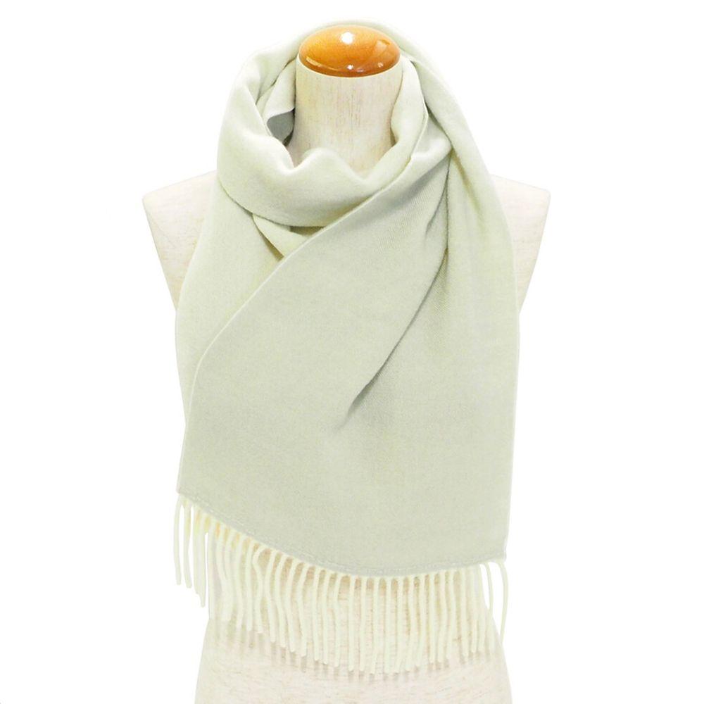 日本服飾代購 - 日本製 質感圍巾-雙色-米X杏 (28x160cm)