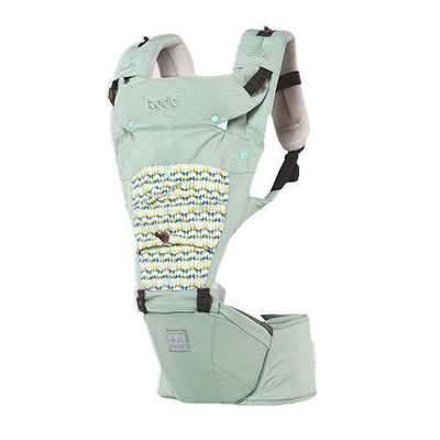 AIR Motion Blossom 有機棉氣囊坐墊式背巾-淺綠色 Milky Green