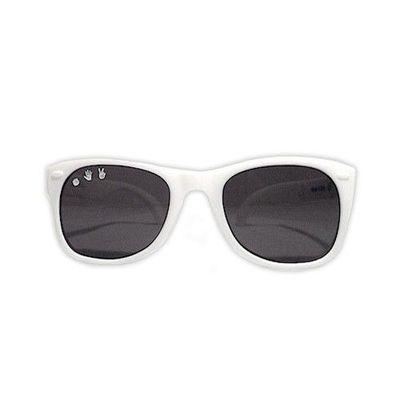 Roshambo繽紛視界 時尚墨鏡-寶寶款-純淨白 (0-2Y)