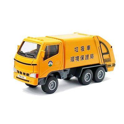 工程車-垃圾車(黃)-關節可動