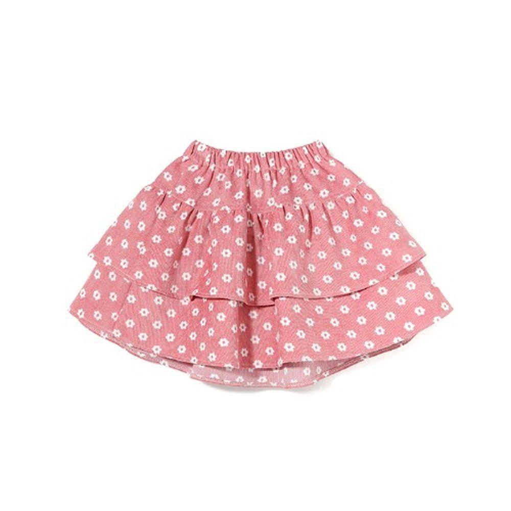 韓國 OZKIZ - 小白花蛋糕裙