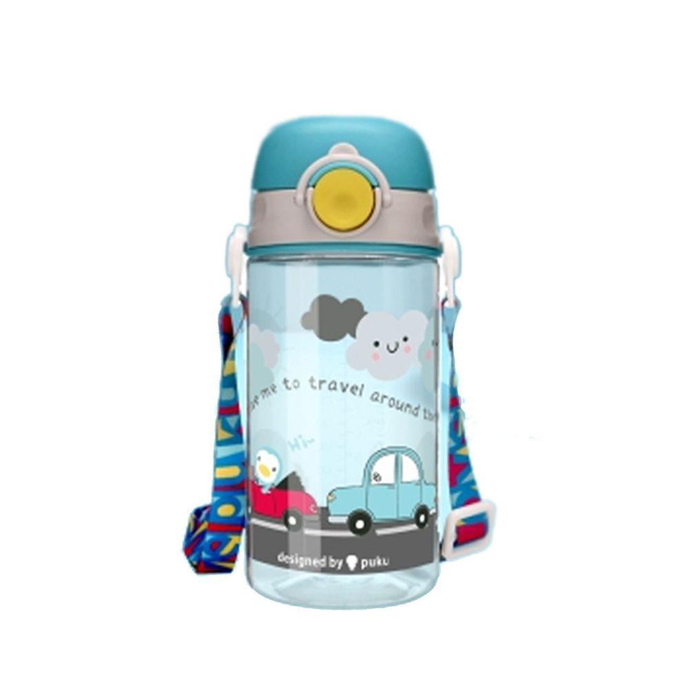 PUKU 藍色企鵝 - Tritan直飲水壺-旅行綠-330ml