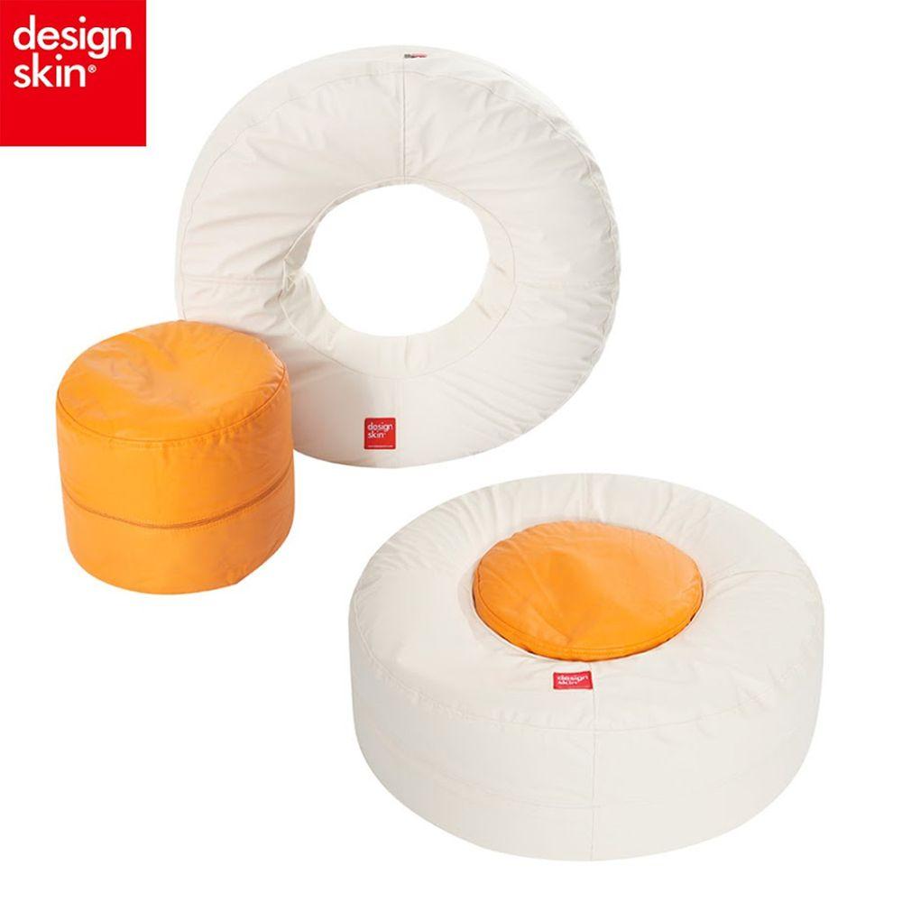 Design Skin - 甜甜圈沙發-蛋黃色