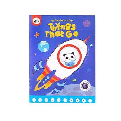 兒童連點畫-交通工具