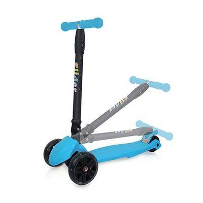 兒童三輪折疊滑板車XL1-淺藍