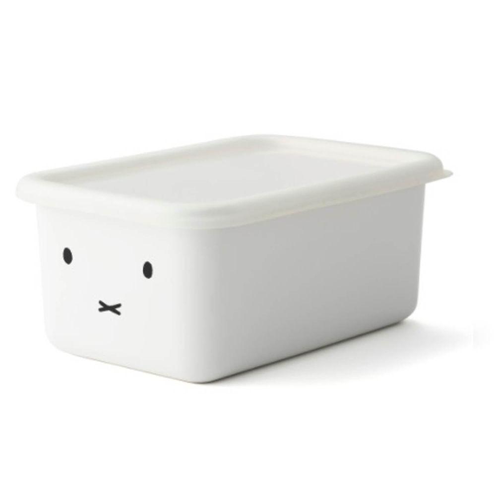 FUJIHORO 富士琺瑯 - 米菲兔系列-琺瑯烘焙保鮮盒深型-DM-容量:1.12L 重量:0.4kg
