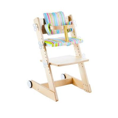 Qmomo 兒童成長餐椅(附輪) 套組