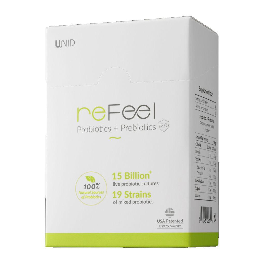 美國 UNID - reFeel益生菌-30入/盒