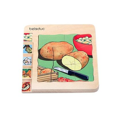 多層木拼圖-馬鈴薯