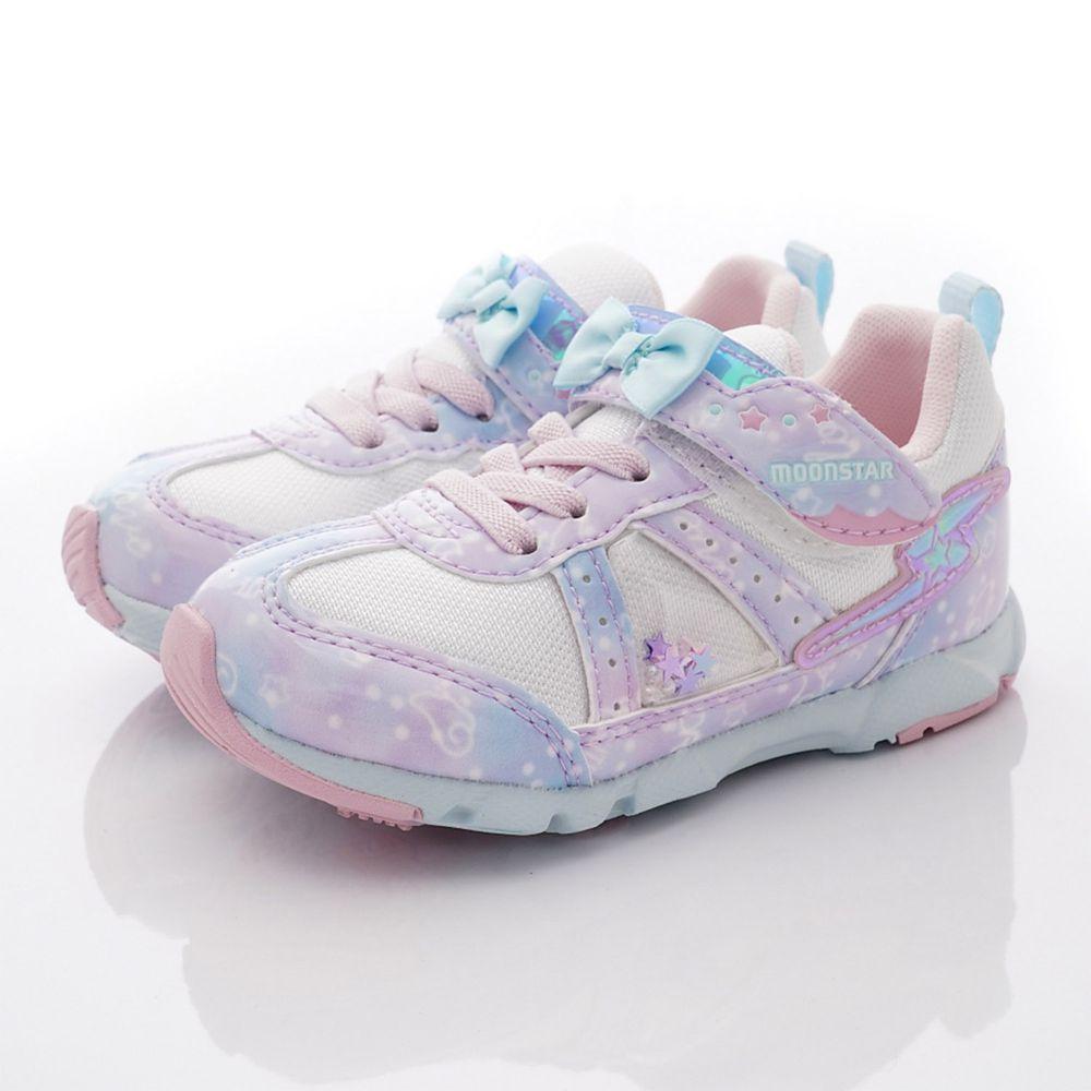 Moonstar日本月星 - 機能童鞋-月星炫彩競速運動鞋款(中小童段)-紫