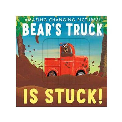 Bear's truck is stuck 卡住的熊卡車 (百葉窗書)