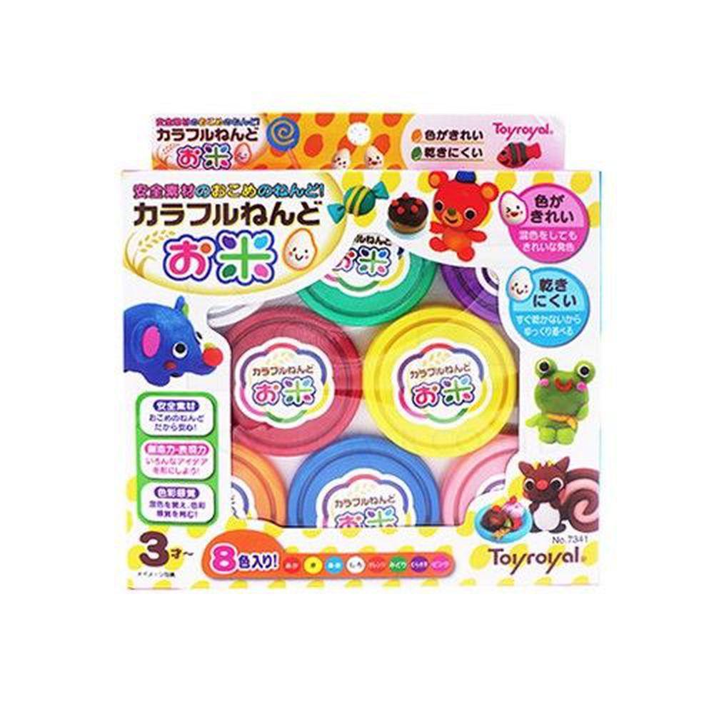 日本 Toyroyal 樂雅 - 米黏土系列-8色
