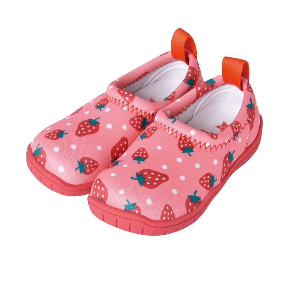 SkippOn - 兒童休閒機能鞋 - ISEAL VU系列-草莓點點