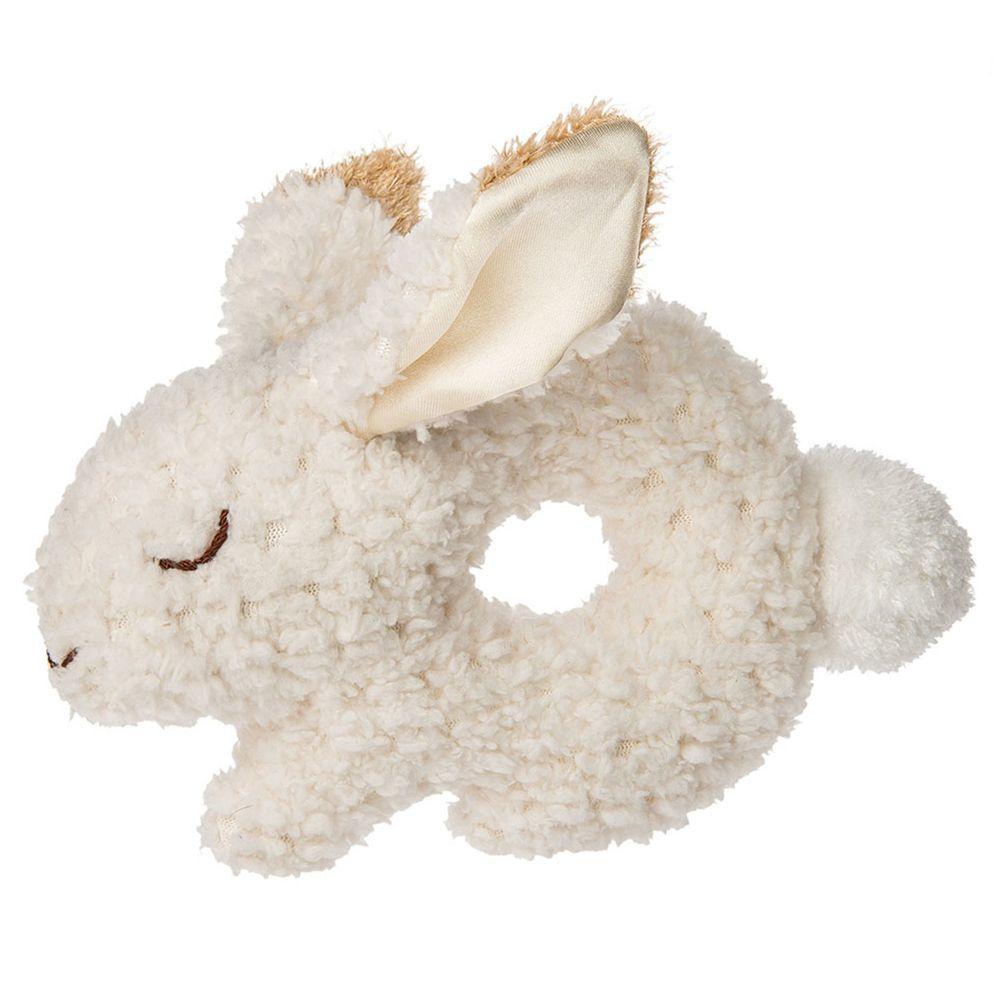 美國 MaryMeyer 蜜兒 - 柔軟手搖鈴-Q版燕麥兔