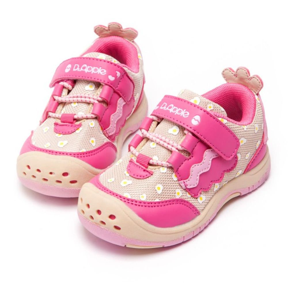 Dr. Apple - 機能童鞋-寶寶可愛小雞俏皮童鞋-粉