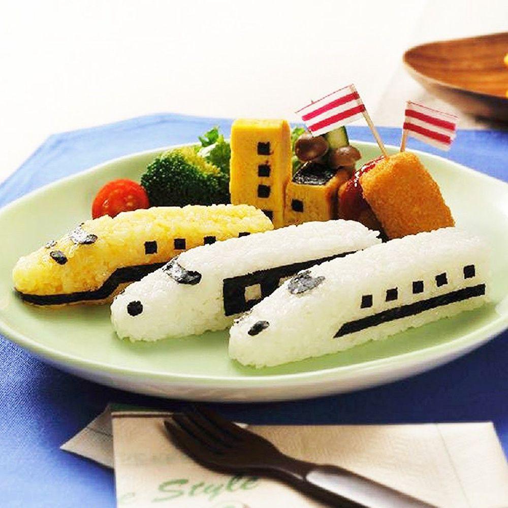 日本 Arnest - 米飯模具組-火車-1顆約60g飯量