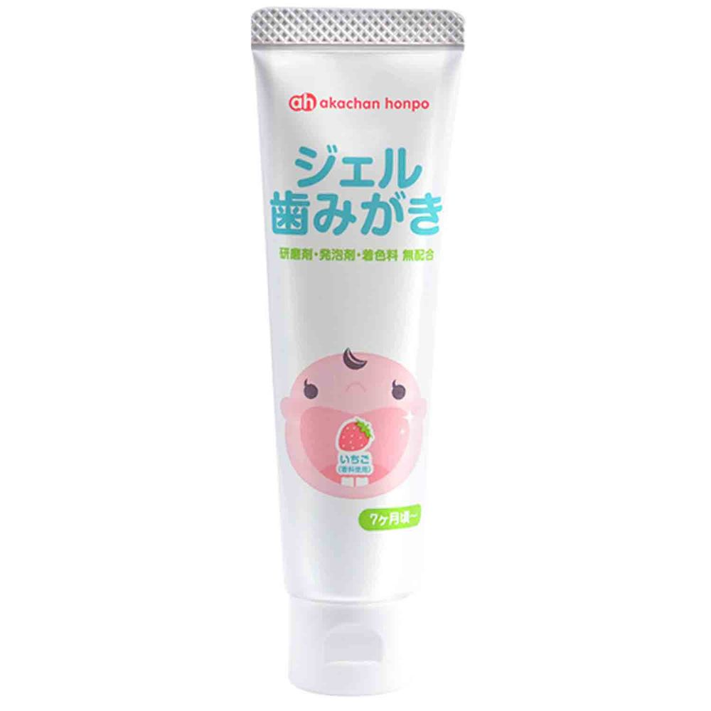 akachan honpo - 凝膠牙膏(草莓)-35g