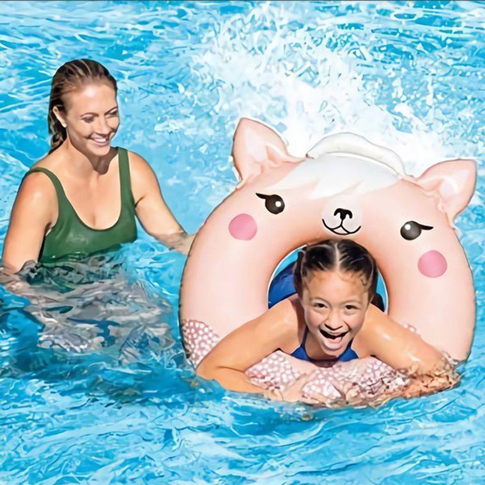 INTEX - 可愛美洲駱駝造型泳圈 適8歲以上