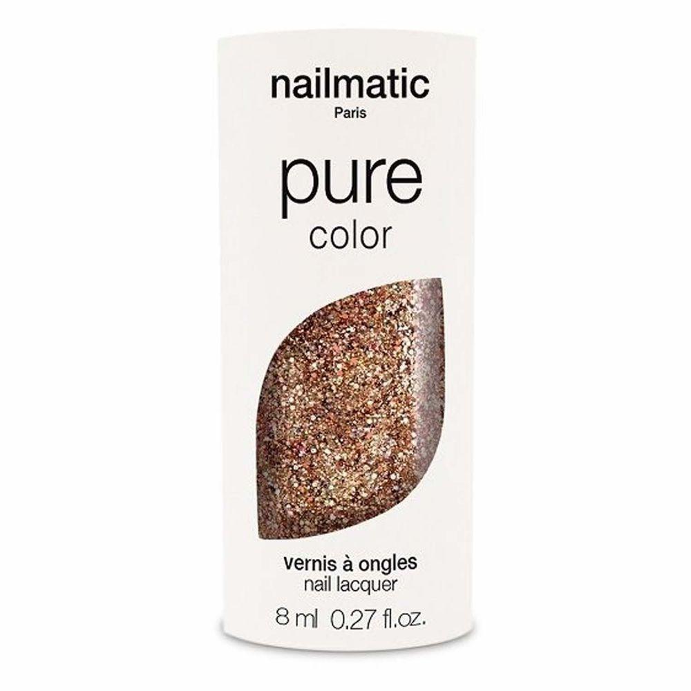 Nailmatic - Nailmatic 純色生物基經典指甲油-BONNIE-玫瑰金-8ml