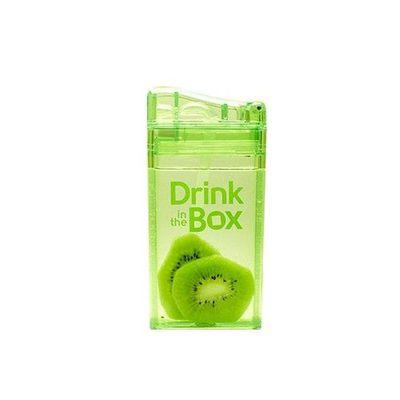 Tritan兒童戶外方形吸管杯-綠色 (235ML)
