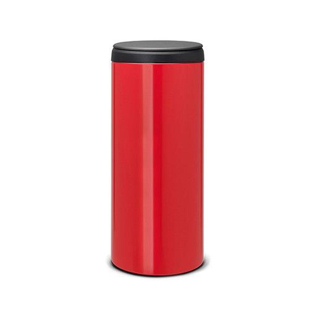荷蘭 Brabantia - 新掀式垃圾桶-熱情紅-30L-熱情紅-30L
