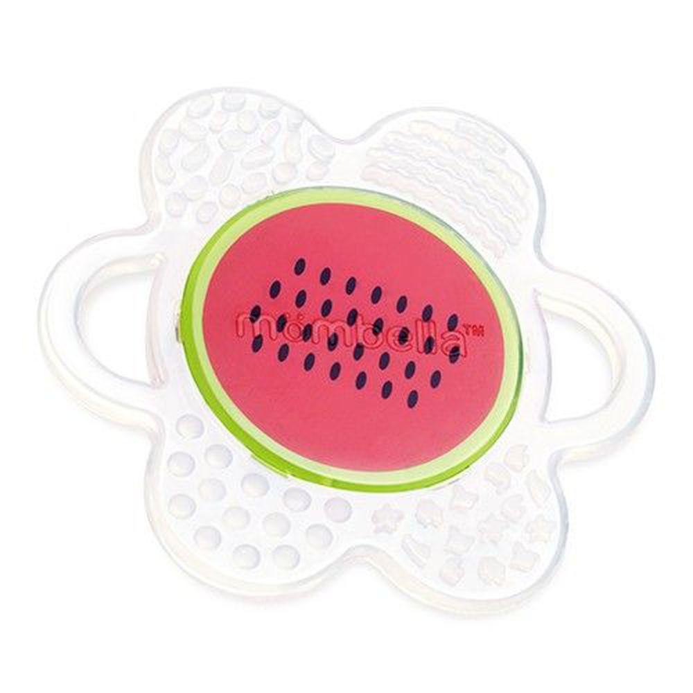 英國 mombella - 小花咬水果固齒器-西瓜